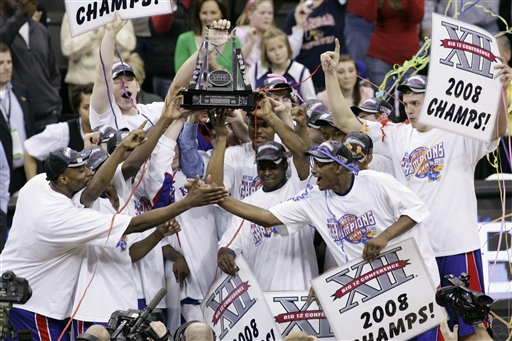 KU wins big12 tourney