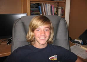 Brent with Long Hair