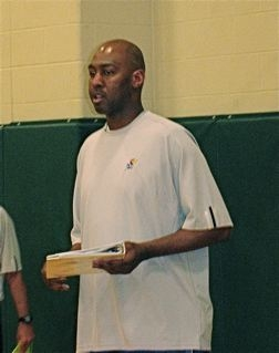 danny manning at ku basketball camp